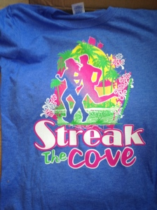 2013 Streak the Cove T-shirt